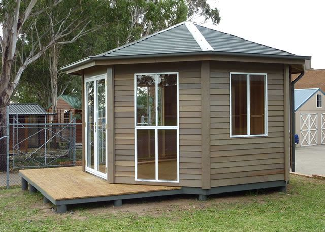 A little writing room? http://www.cedarspancabins.com.au/products/classic-cabins/the-repertorium