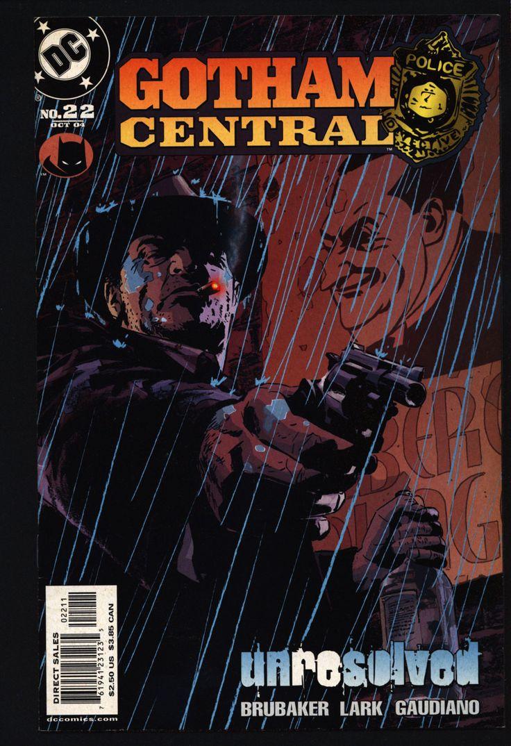 BATMAN GOTHAM CENTRAL #22 Harvey Bullock, Ed Brubaker, Michael Lark,Dark Knight,Detective,Crime,Comic Book