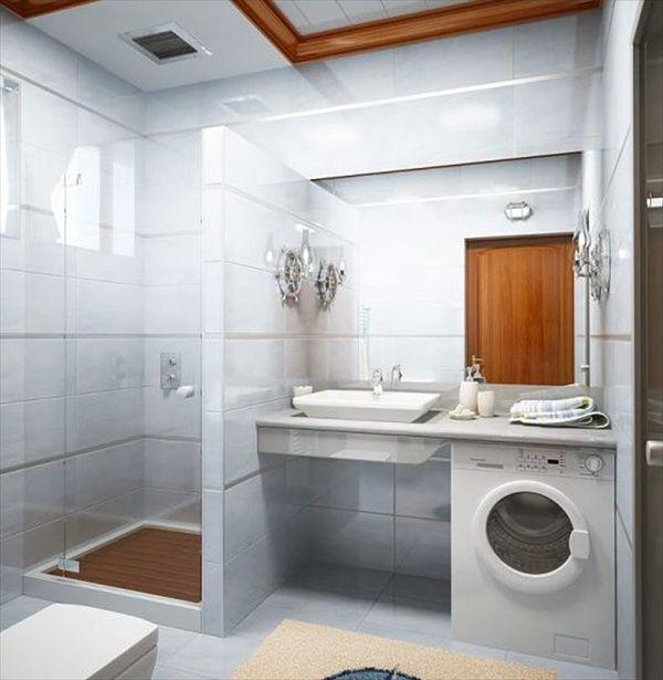 15 Modern and Small Bathroom Design Ideas