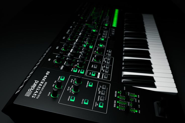Win a Roland SYSTEM-8 PLUG-OUT Synthesizer.
