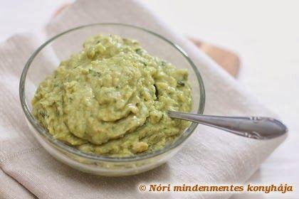 Nóri mindenmentes konyhája: Guacamole
