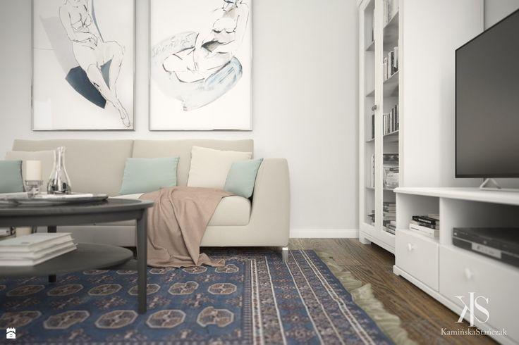 Mieszkanie na Woli - zdjęcie od KamińskaStańczak - Salon - Styl Klasyczny - KamińskaStańczak