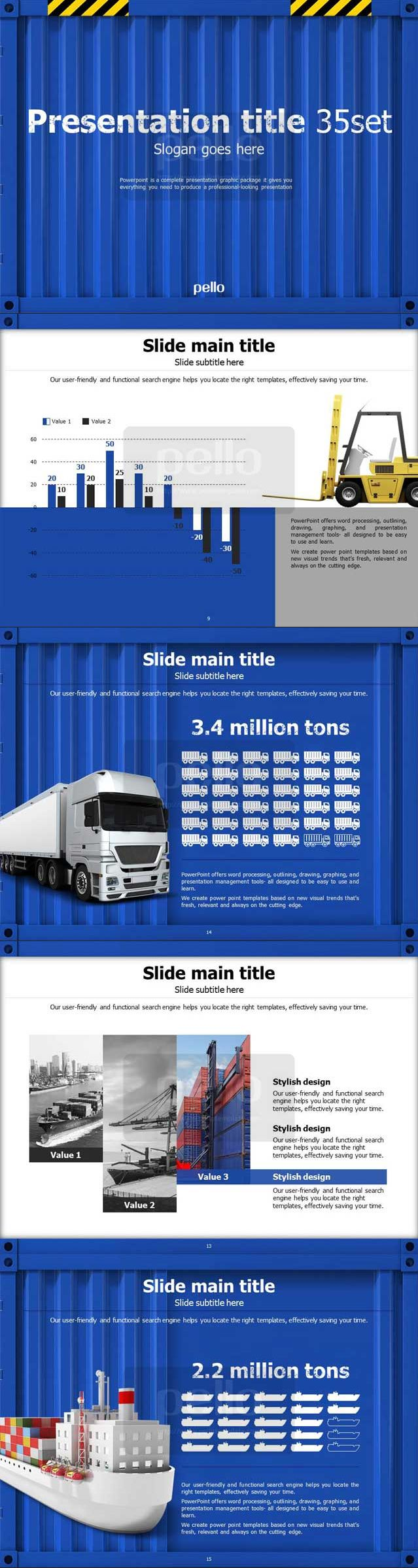 85 best good pello ppt templates images on pinterest templates showcase your transport export import logistics and shipping business data in this clean and striking full hd powerpoint template by pello toneelgroepblik Gallery