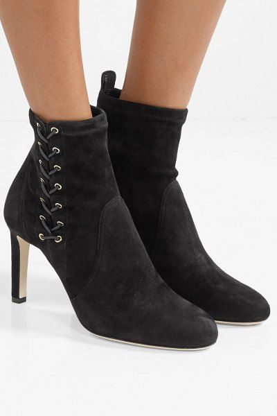 76fc5e4d066 Jimmy Choo mallory 85 suede ankle boots. #jimmychoo #shoes #booties