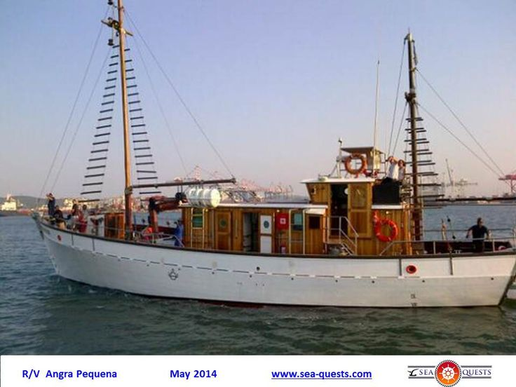 Research Vessel  R/Y ANGRA PEQUENA.  Durban, South Africa 2014.  www.sea-quests.com
