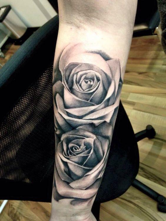 Tatuajes De Rosas En El Brazo Top 1234 Fotos Tatuajes