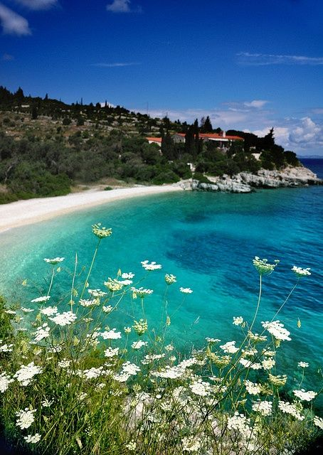 Greece Travel Inspiration - Paxos Beach, Corfu.