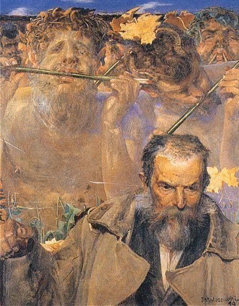 Jacek Malczewski, The Story of a Song (Portrait of Adam Asnyk) on ArtStack #jacek-malczewski #art