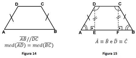 Resultado de imagem para como calcular os angulos internos de um trapézio isósceles