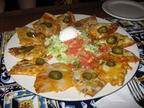 Chili's Bar and Grill : Fajita Nachos