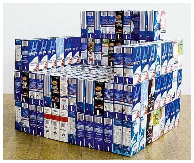 25 melhores ideias sobre mobili rio caixa de leite no