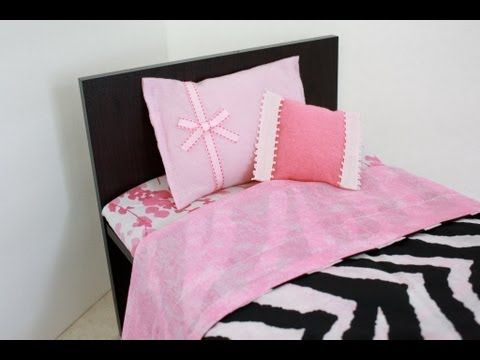 How to Make a Wooden 18 inch Doll Bed for about $10.00 : Plus Bunk Beds - YouTube