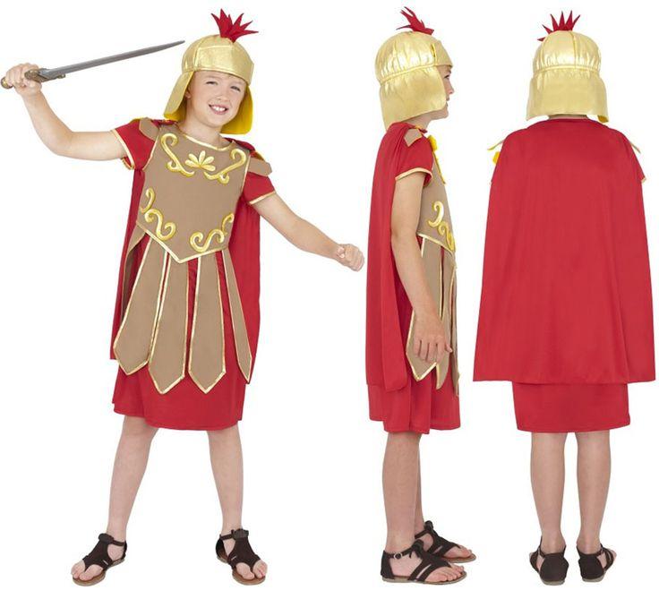 Disfraz de Senador Romano para niños de 4 a 6 años   Disfrazzes   Tienda de disfraces online