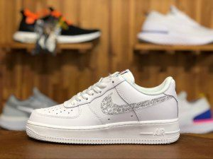 check out b67b7 3ca9a Mens Womens Nike Air Force 1 LV8 White Just Do it BQ5361 100 Running Shoes