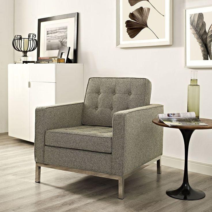 Modway Loft Fabric Armchair