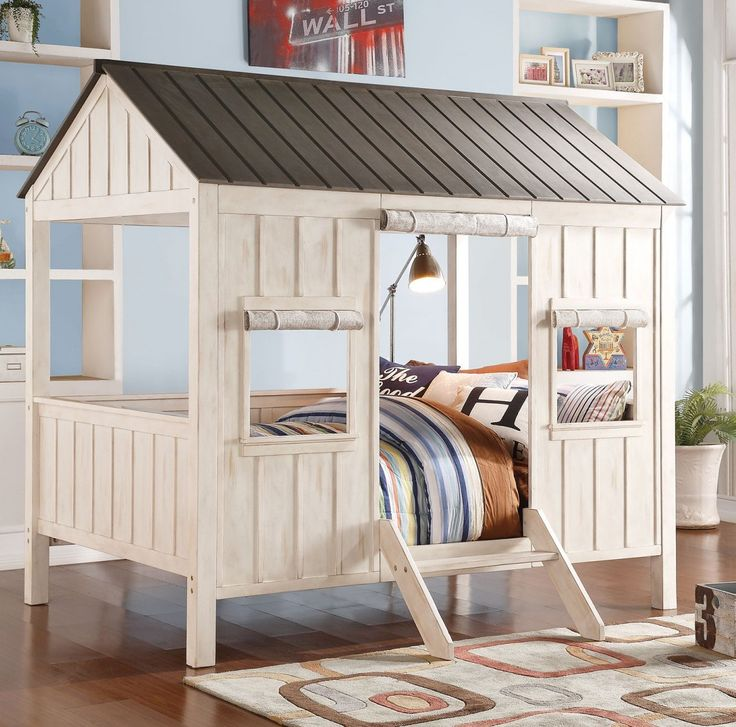 Take bed-time with this incredible Spring Cottage full size bed.