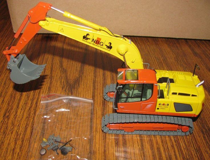 Liebherr R 916 R916 Advanced Hydraulic Excavator NBG Co. 1/50 NZG Toy 685 NEW   eBay