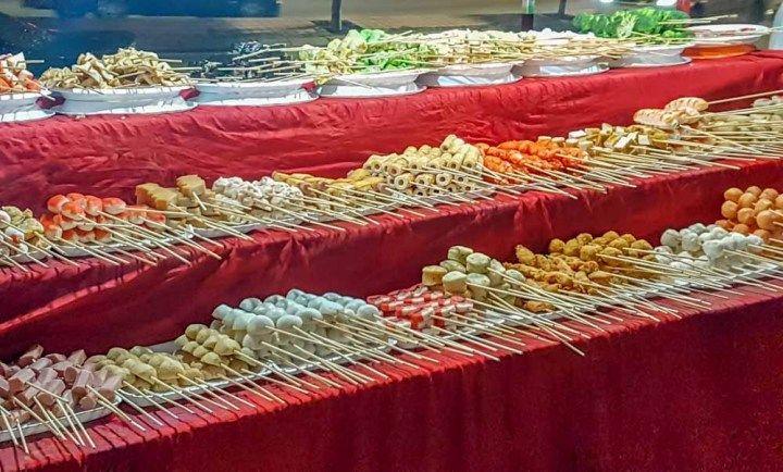 Um dos motivos para visitar a Malásia: comida de rua deli