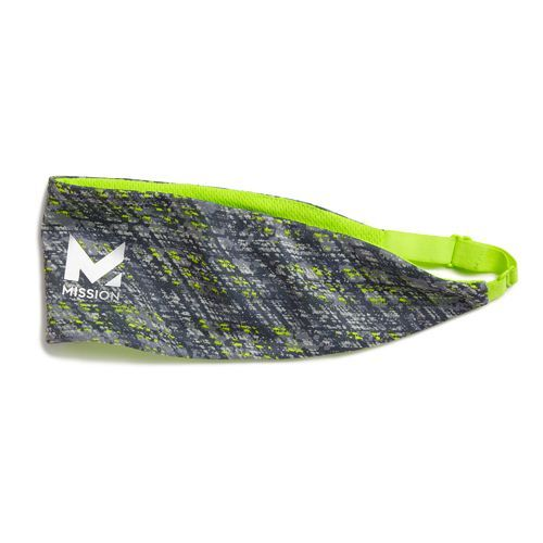 Mission Athletecare Adults' EnduraCool™ Reversible Cooling Headband Green Bright 02 - Exercise Accessories at Academy Sports