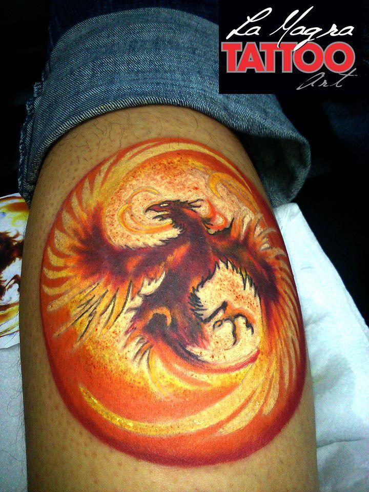 #phoenix #tattoo #fire #bird