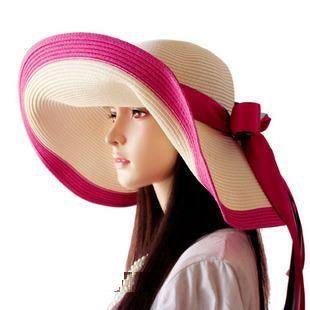 Как носят женские соломенные шляпы