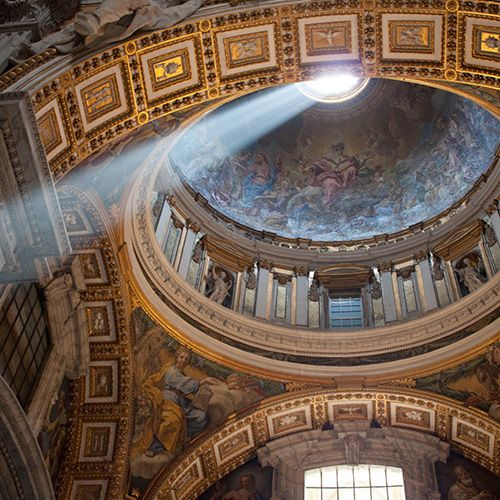 Rome. The popularity of Pope Francis boosted tourism to the Vatican by 180% last year, 2013. The papal fanbase extends beyond the corporeal world, too, with 3.6 million following His Holiness on Twitter & a new smartphone app, Missio with daily Vatican news updates. www.travelandleisure.com