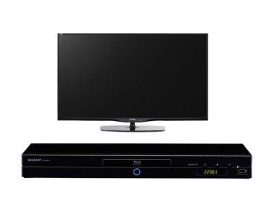 Téléviseur 152 cm 3D + lecteur Blu-Ray 3D - SHARP LC60LE651E ET SHARP BD-AMS10S prix promo Conforama 1 249.00 € TTC
