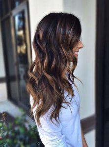 Balayage on Dark Hair