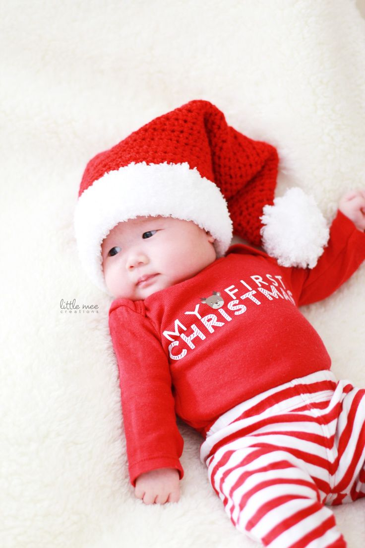 baby santa hat free crochet pattern littlemeecreations