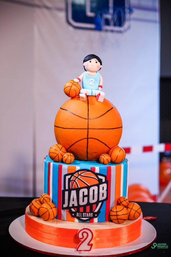 All Star Basketball Birthday Party Boy Party Ideas
