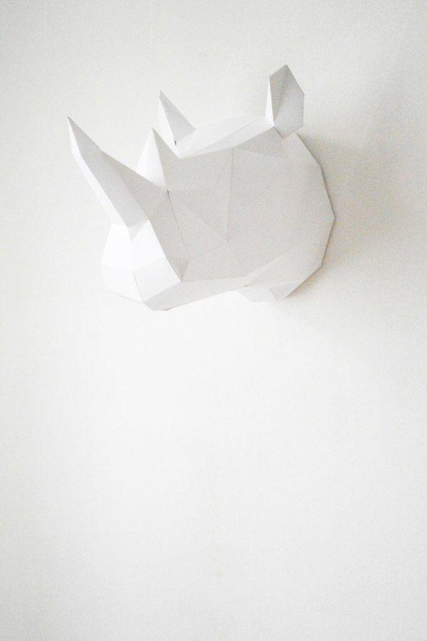 Paper heads by Andriana Chunis, via Behance