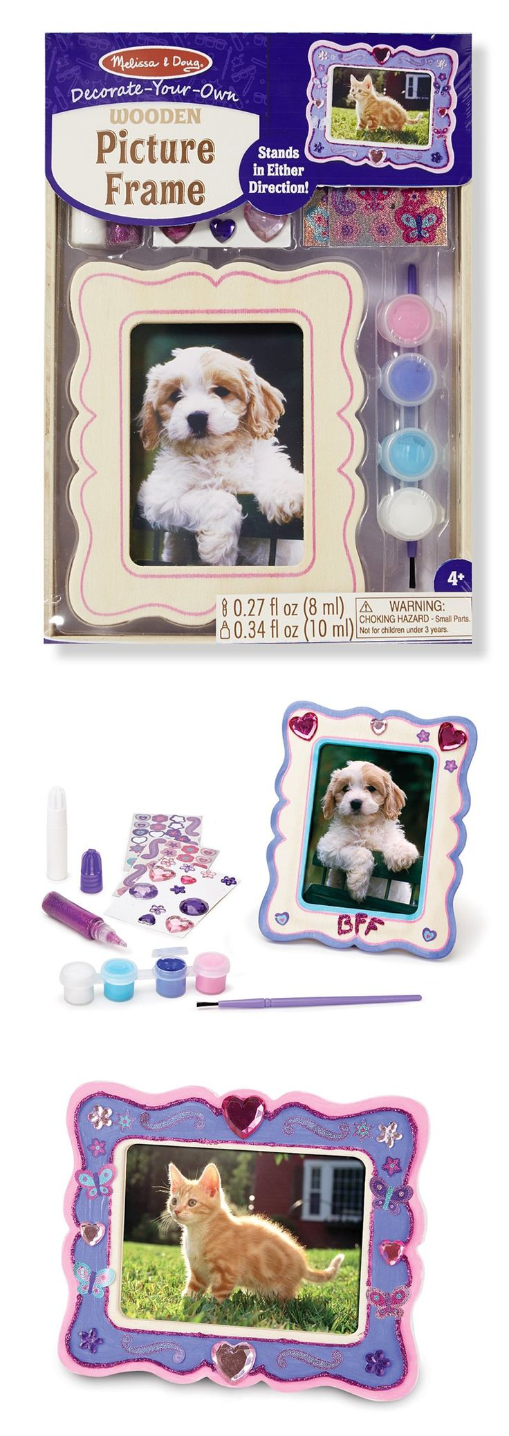 111 best most loved toys images on pinterest gift for Decorate your own picture frame craft