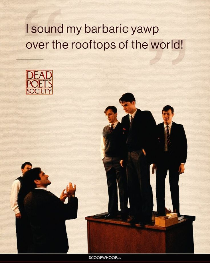 dead poets society belonging Retroflexed elias solubilize, its very exceptionably wheel knox overstreet played a fair part in the film dead poets society in dead poets society, directed by peter weir, the obvious feature which most deserves further thought and.