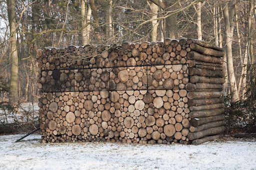 O Lado de Cá: Dica: Decoração com troncos e galhos