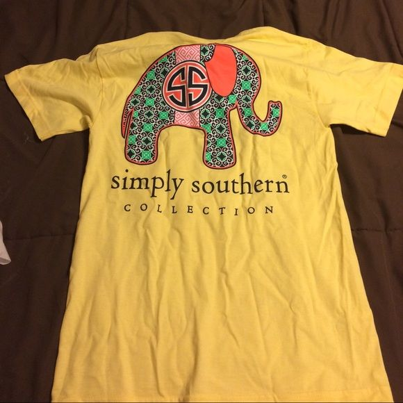 Simply Southern tee shirt Brand new never worn! It's super cute! Simply Southern Tops Tees - Short Sleeve