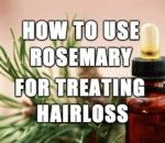 How to Use Rosemary for Treating Hair Loss - Rosemary essential oil is a natural way to stimulate hair growth and hair health. Follow these simple tips for more lustrous locks. --- http://www.realfarmacy.com/rosemary-hair-loss/