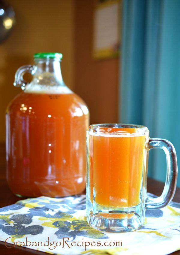 Easy Organic Honey Kvas Recipe