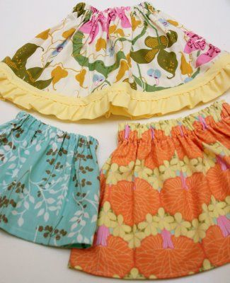 #Tutorial: Toddler Skirt...I always loved on my sisters and cousins...Happy to know I can now make some for my girls!