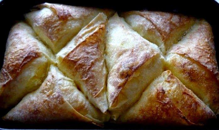 Pita od sira na trokutiće