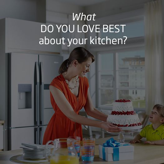Tell us, what do you love best about your kitchen?