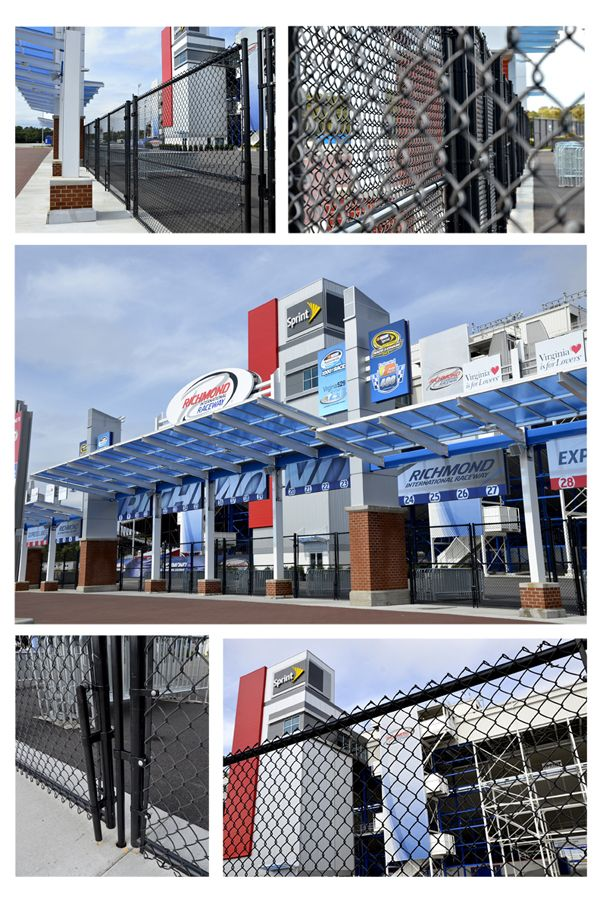 38 Best Types Of Commercial Fence Images On Pinterest