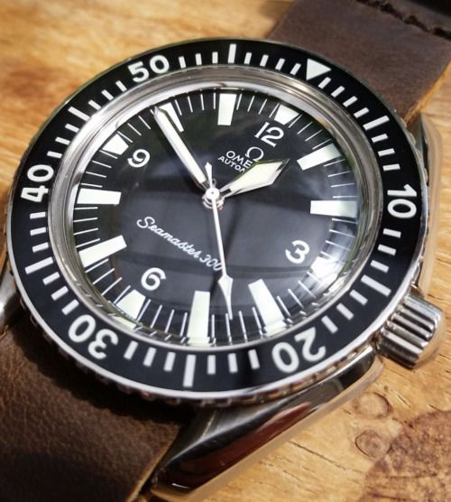 omegaforums: Vintage OMEGA Seamaster 300 Diver In Stainless Steel Circa 1960s - http://omegaforums.net