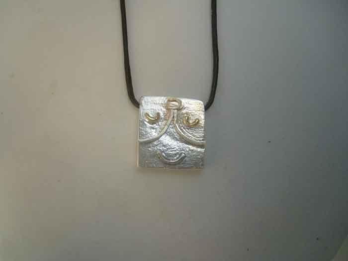 mayan kin seal wizard Ix sterling silver 925 pendant charm zodiac necklace sello maya kin mago colgante zodiacal maya plata de ley by Algaba on Etsy