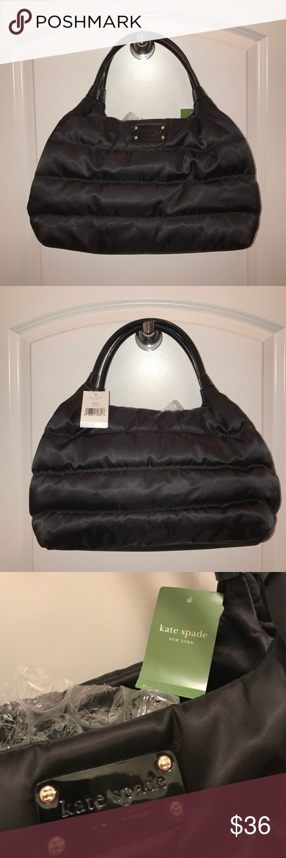 """NWT Kate Spade Alpine Hills Stevie Purse Brand new, never used! Large, authentic, unique quilted nylon bag 💼 15.5"""" x 9"""" x 6"""". MSRP $295 kate spade Bags Totes"""