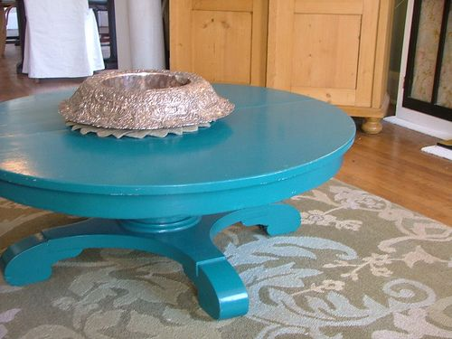 17 images about pedestal table on pinterest white for Teal kitchen table