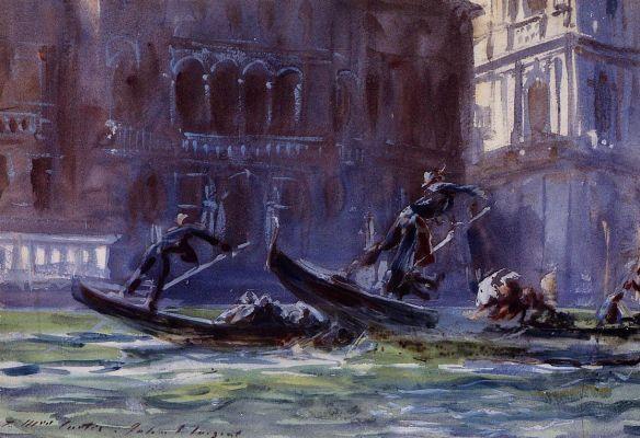 Джон Сингер Сарджент. Феста делла Регата. Венеция