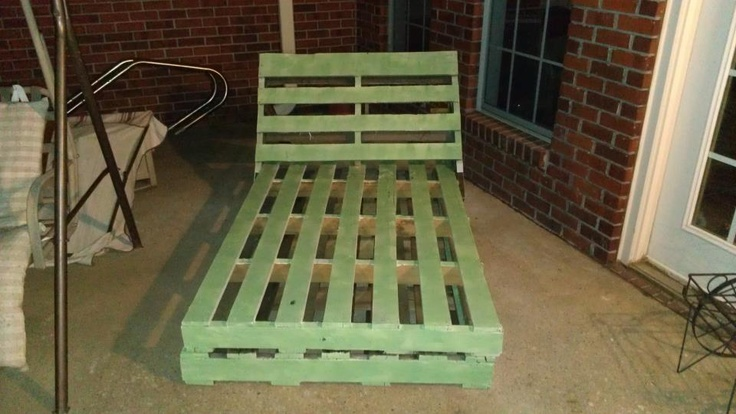 Pallet chaise stuff i did pinterest pallets diy for 5 5 designers chaise
