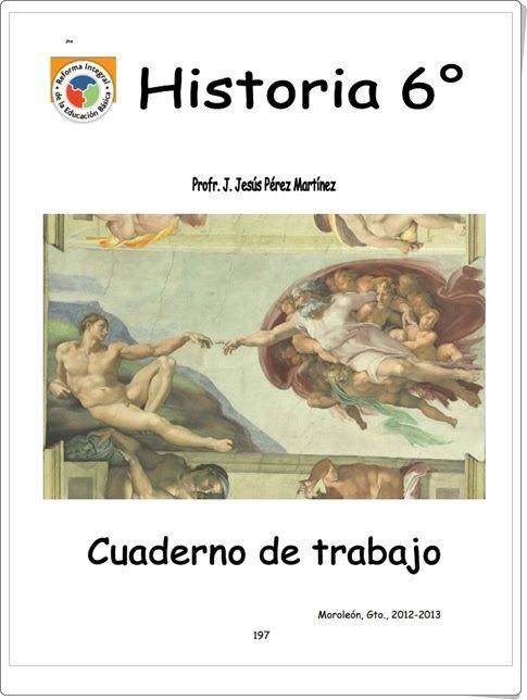 """Recursos didácticos para imprimir, ver, leer: """"Cuadernillo de Historia de Educación Primaria"""" (J.Jesús Pérez Martínez)"""
