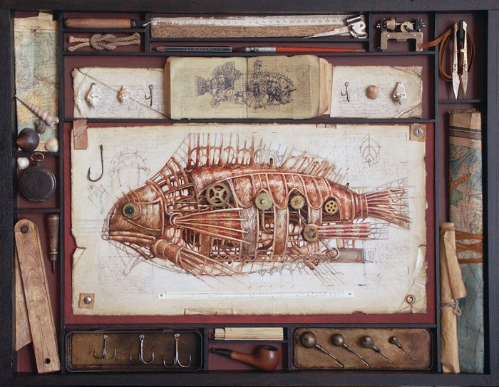 Steampunk - Vladimir Gvozdev 11