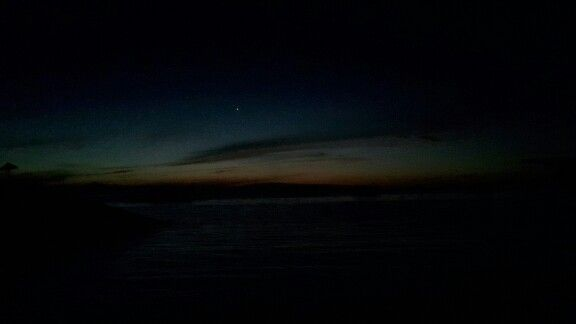 Before sunrise...